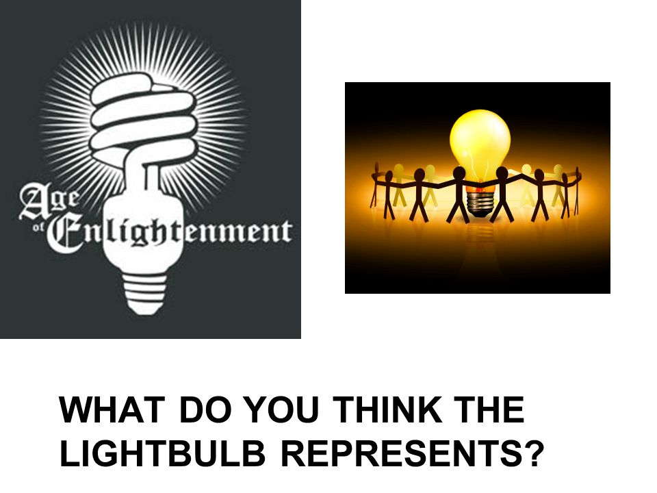 What do you think the lightbulb represents