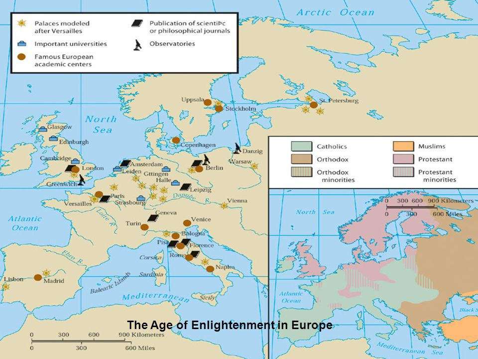The Age of Enlightenment in Europe