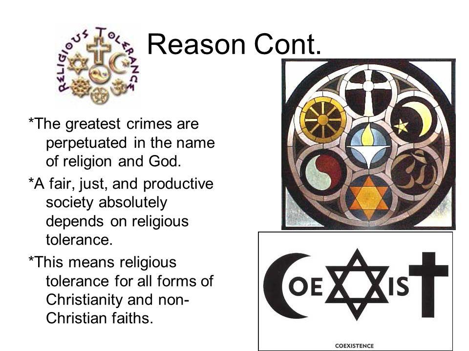 Reason Cont.