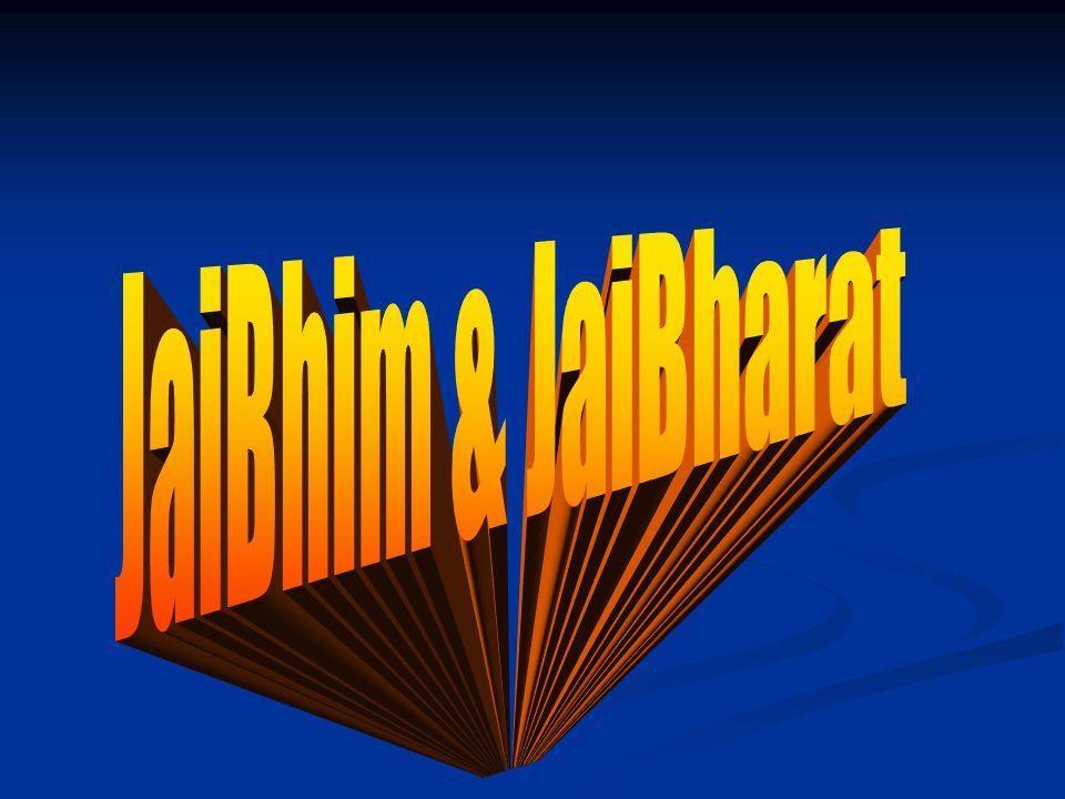 JaiBhim & JaiBharat