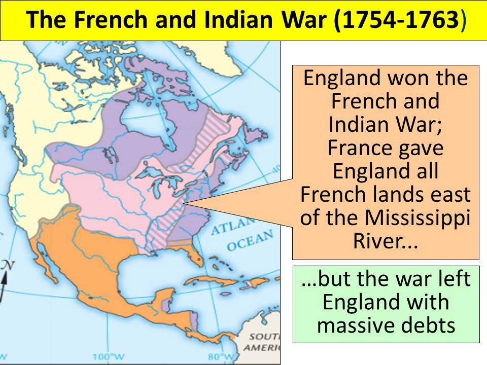 The French and Indian War (1754-1763)