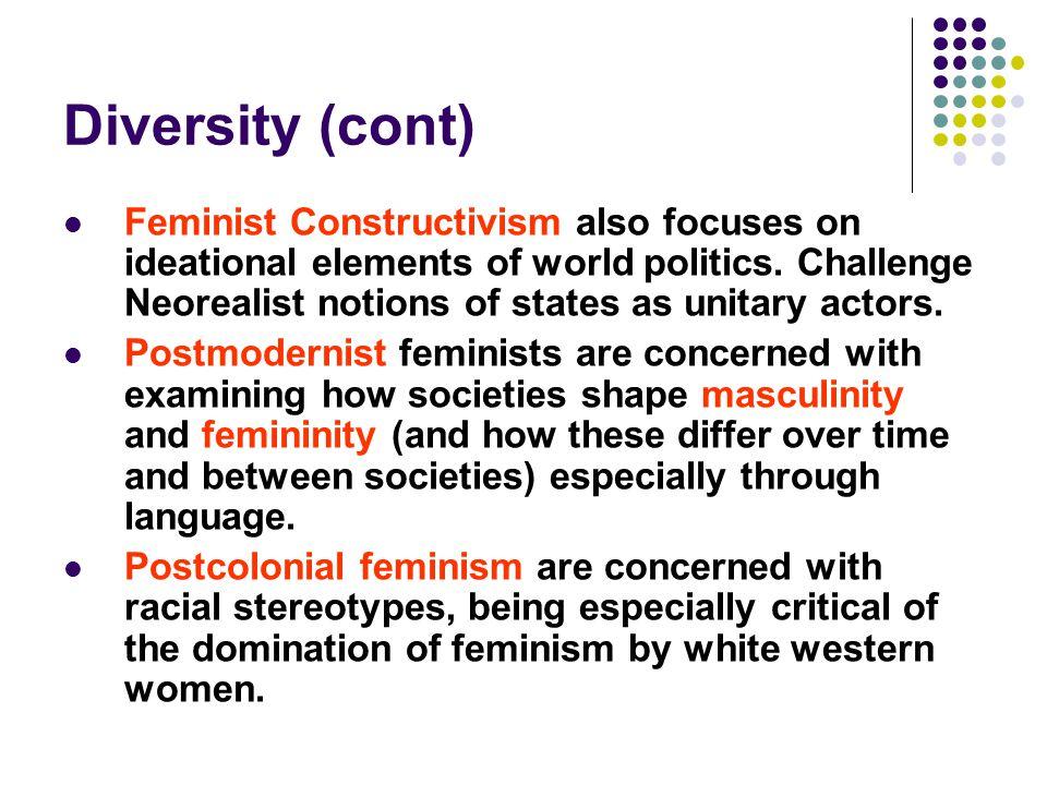 Diversity (cont)