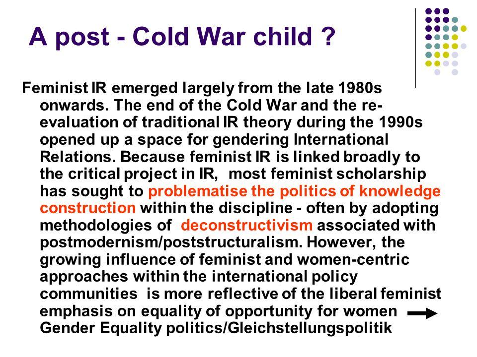 A post - Cold War child