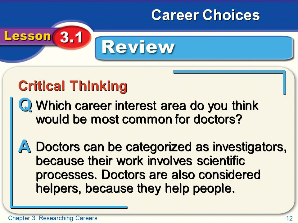Critical Thinking Review