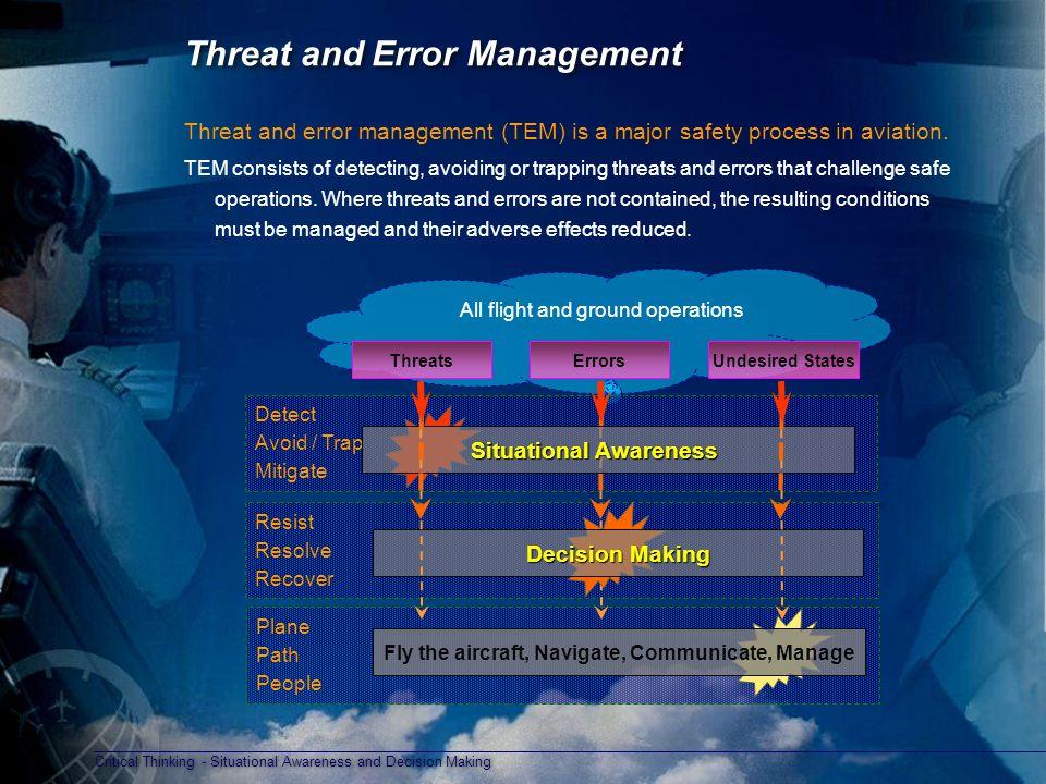 Threat and Error Management