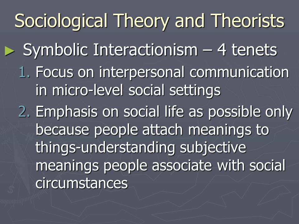 Sociological Theory and Theorists