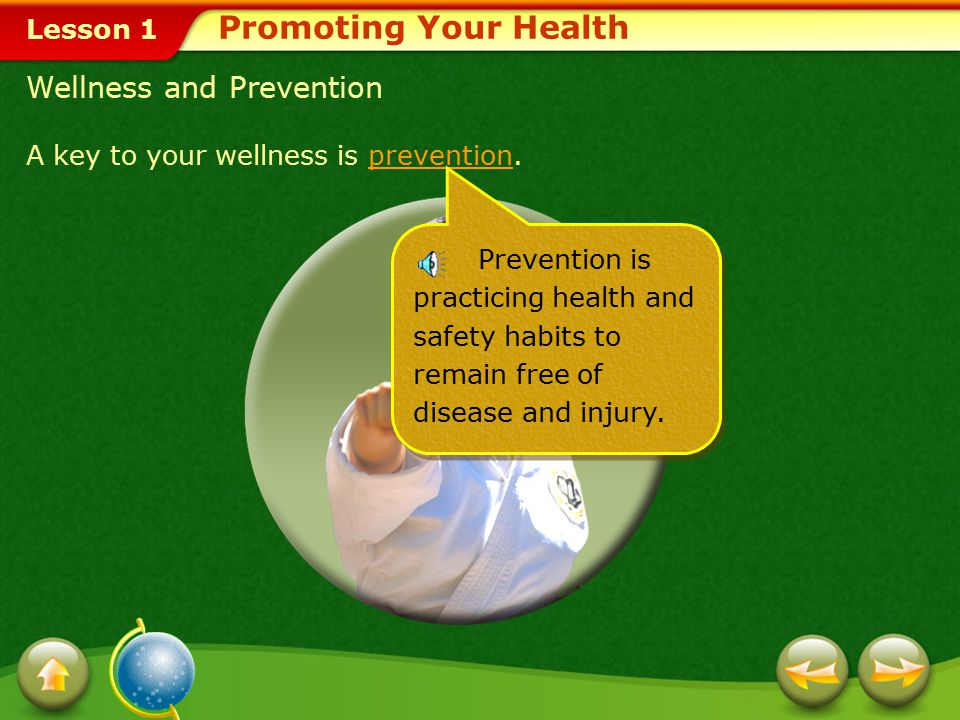 Promoting Your Health Wellness and Prevention