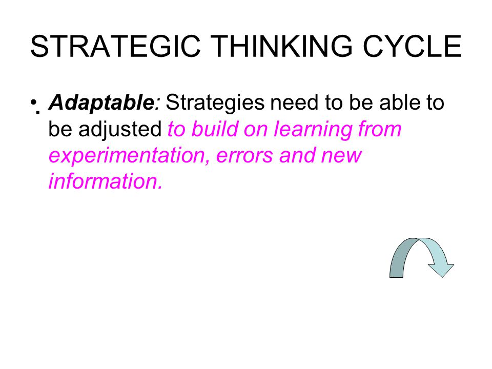 How Effective Leaders Apply Strategic Thinking