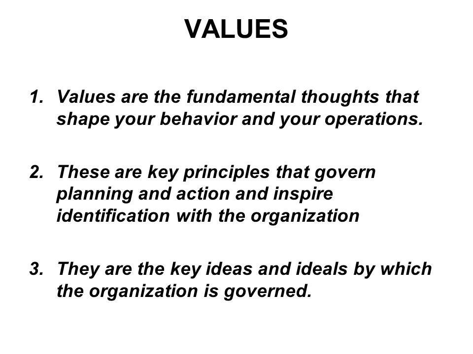 identify the mission values and key Vision, mission, and values by jd 0 7782 creating your mission and vision the key steps to creating your mission and vision are: identify the values of the organization you find these by observing how employees spend their time.