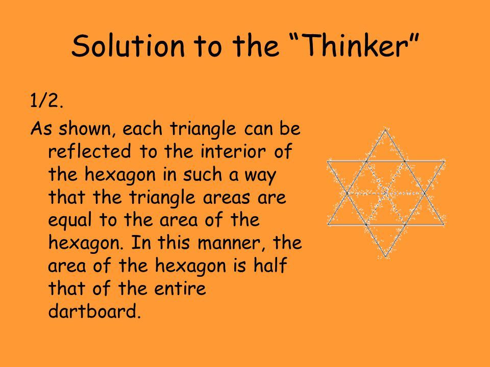 Solution to the Thinker
