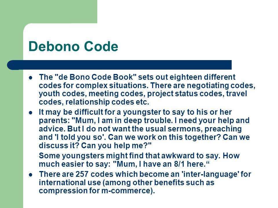 Debono Code