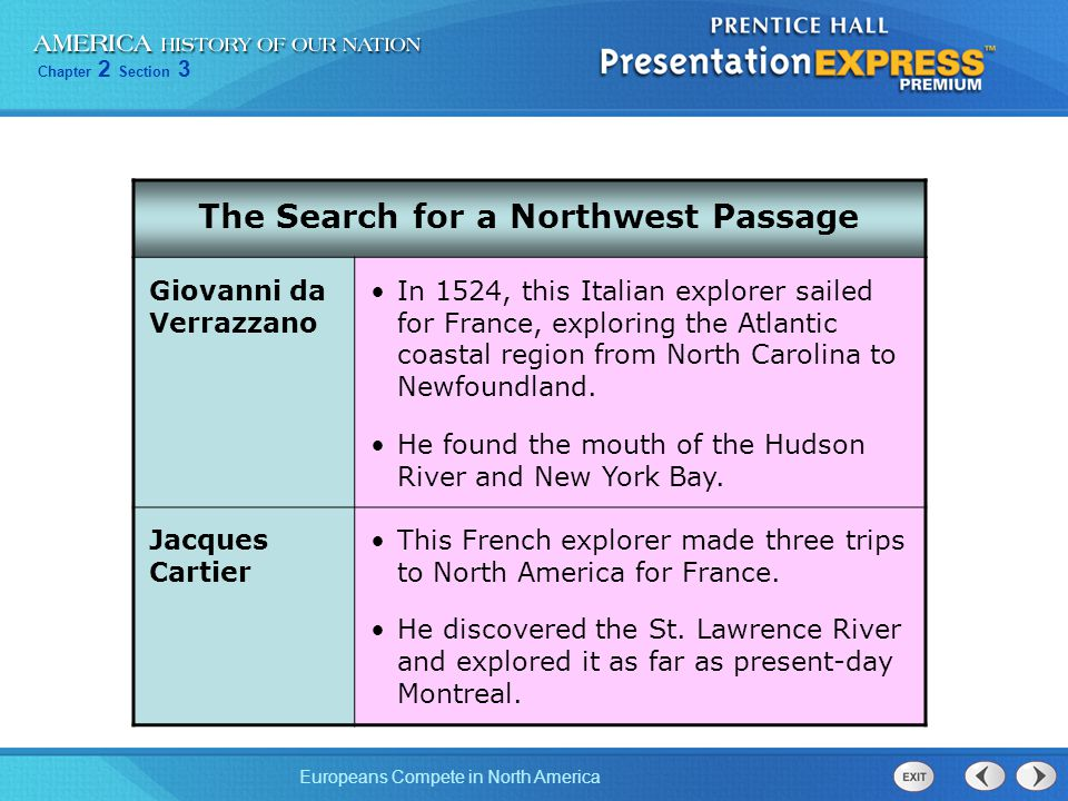The Search for a Northwest Passage