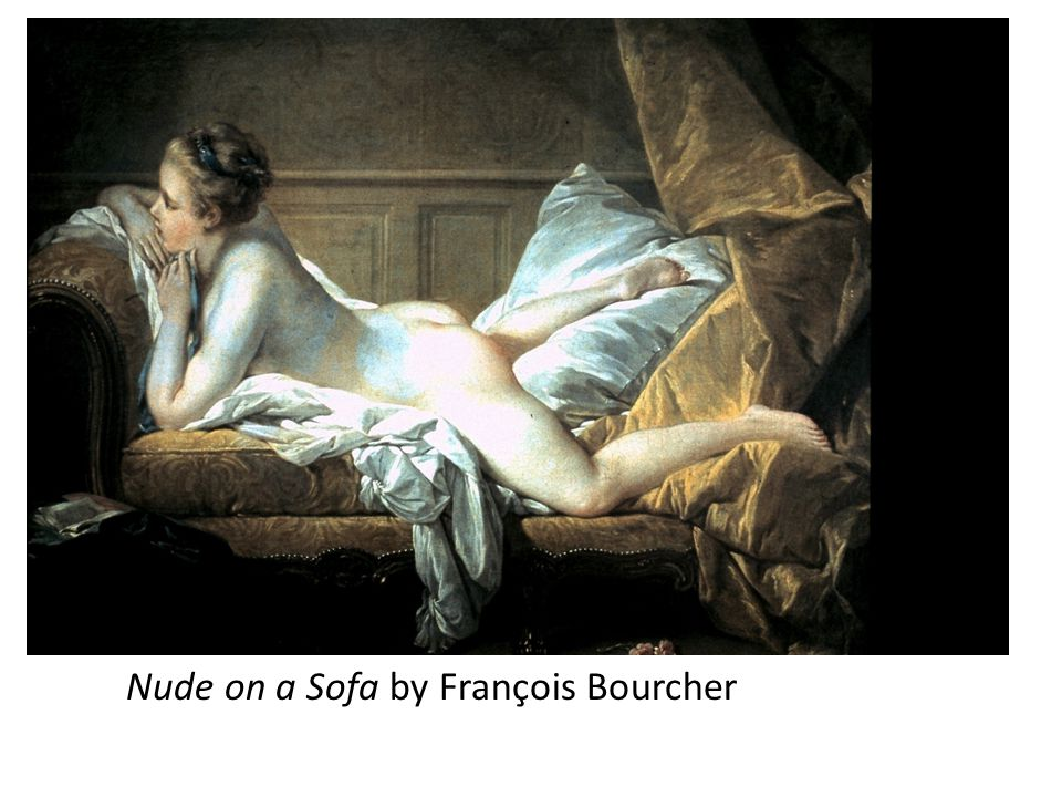 Nude on a Sofa by François Bourcher