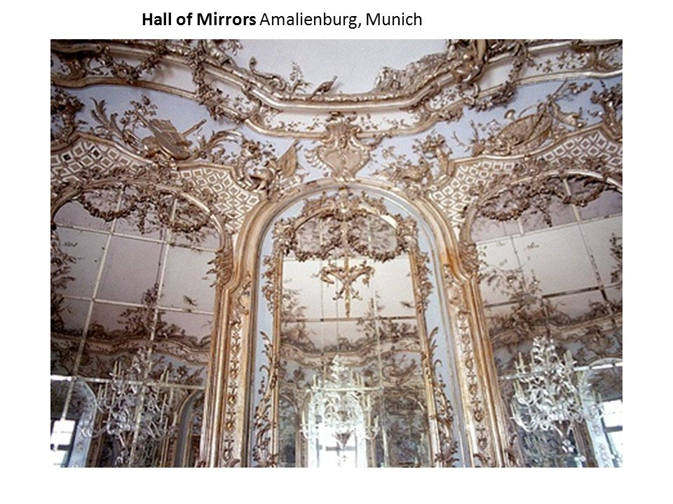 Hall of Mirrors Amalienburg, Munich