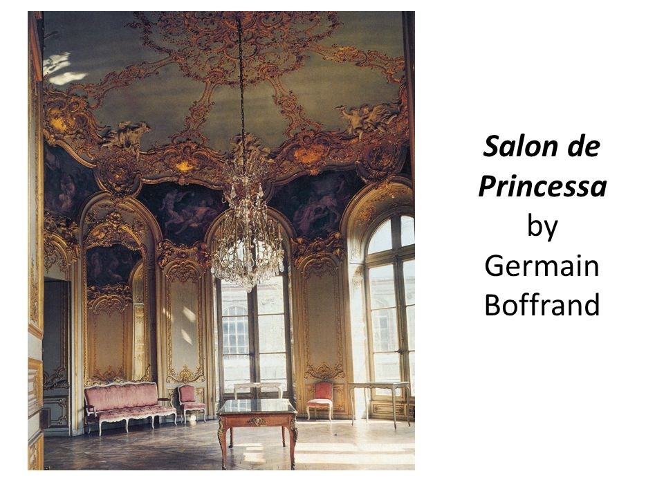 Salon de Princessa by Germain Boffrand
