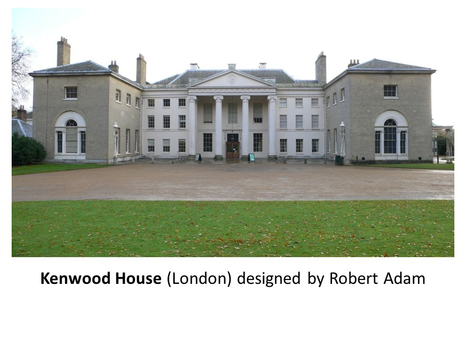 Kenwood House (London) designed by Robert Adam
