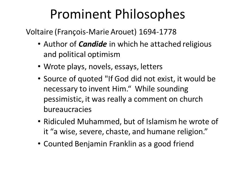 Prominent Philosophes