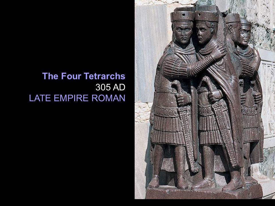 The Four Tetrarchs 305 AD LATE EMPIRE ROMAN