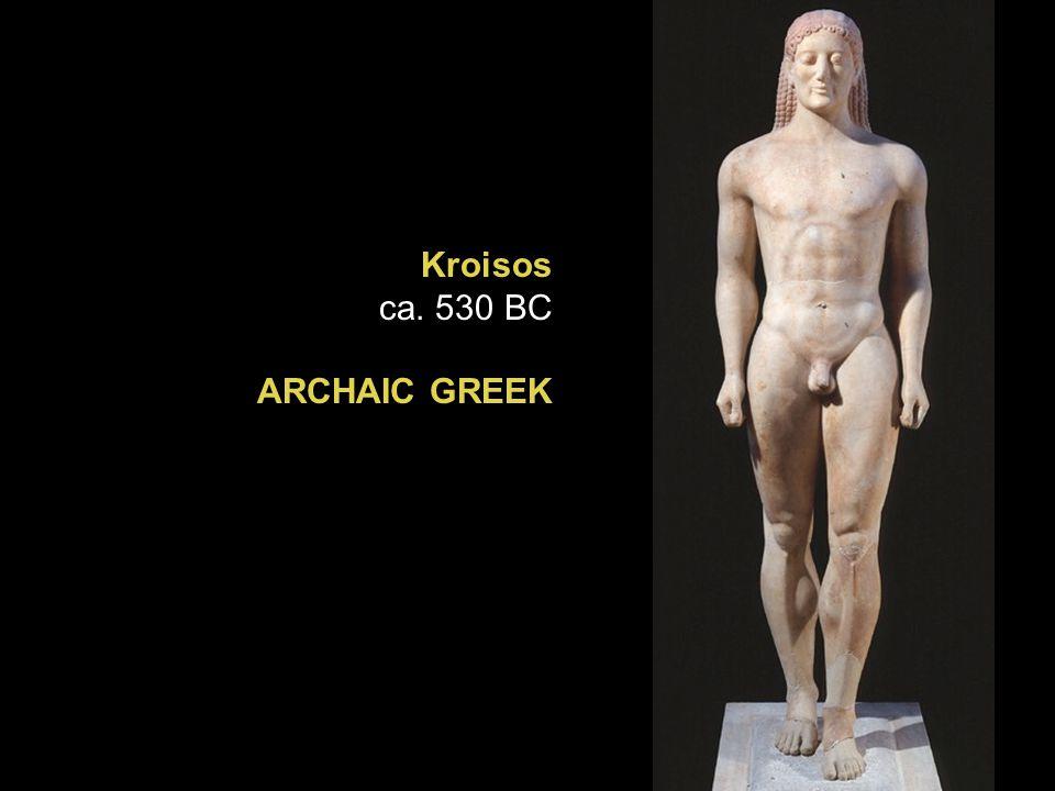 Kroisos ca. 530 BC ARCHAIC GREEK