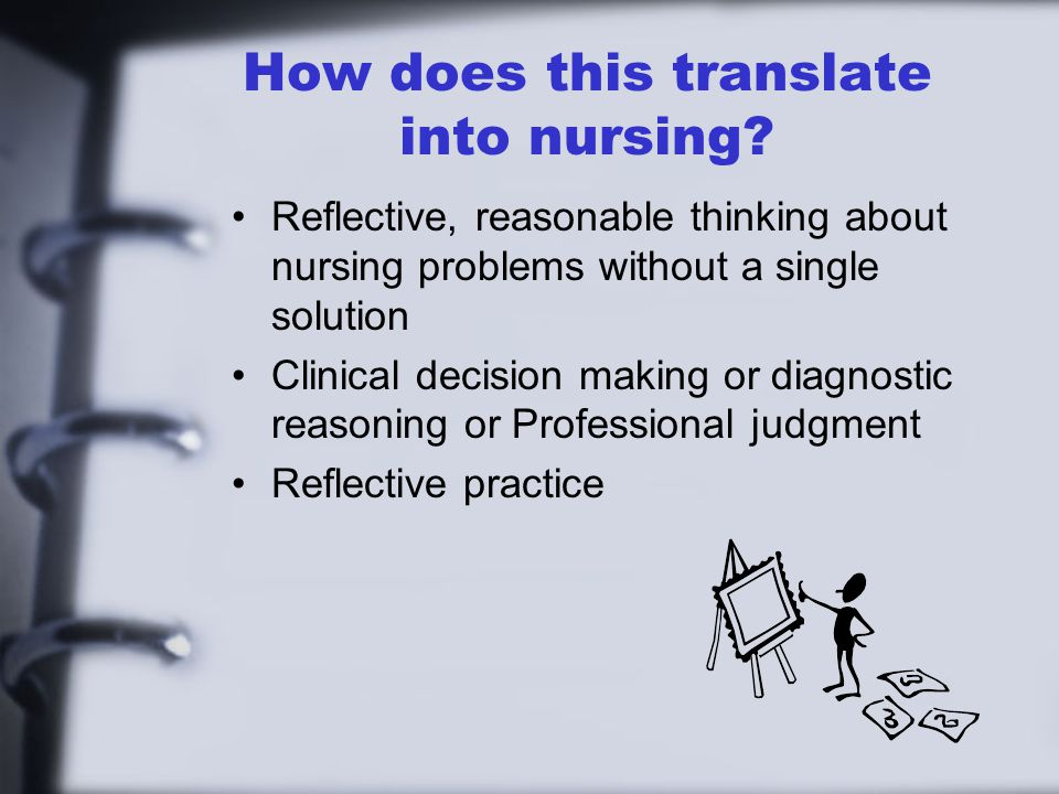 How does this translate into nursing