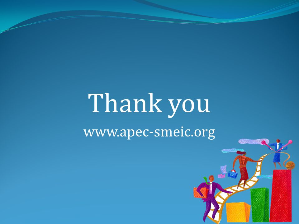 Thank you www.apec-smeic.org