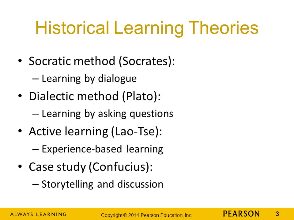 Historical Learning Theories