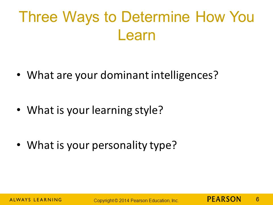 Three Ways to Determine How You Learn