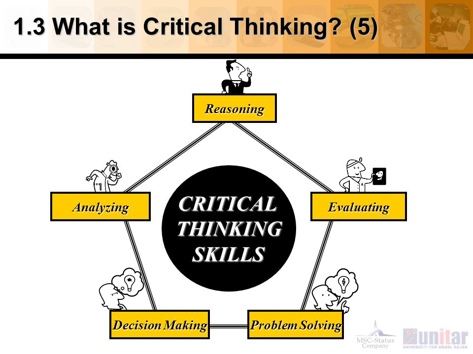 1.3 What is Critical Thinking (5)