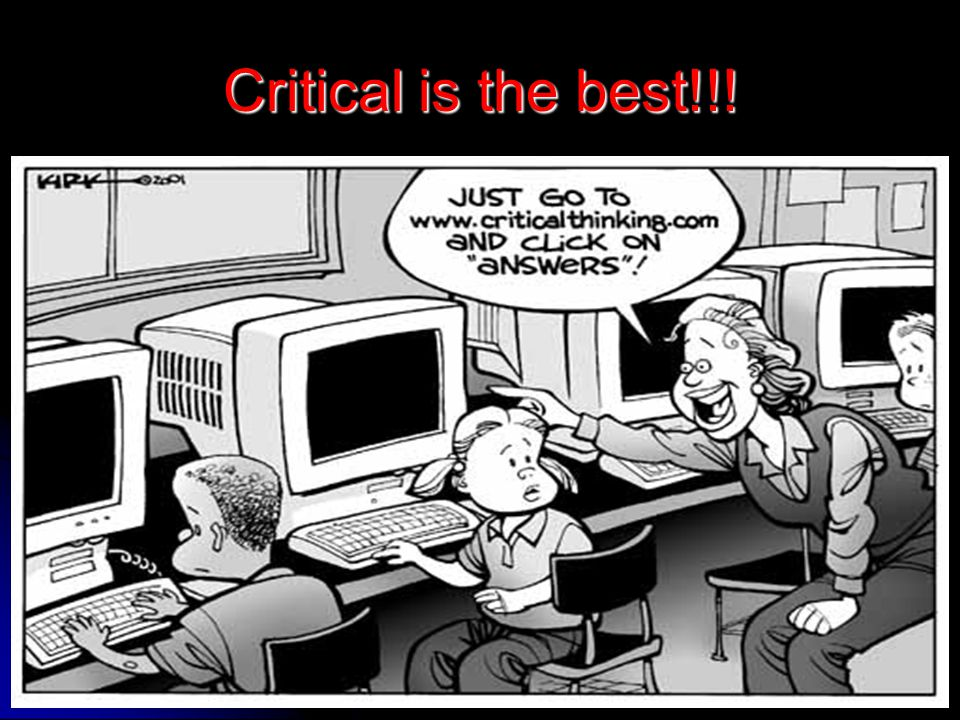 Critical is the best!!!