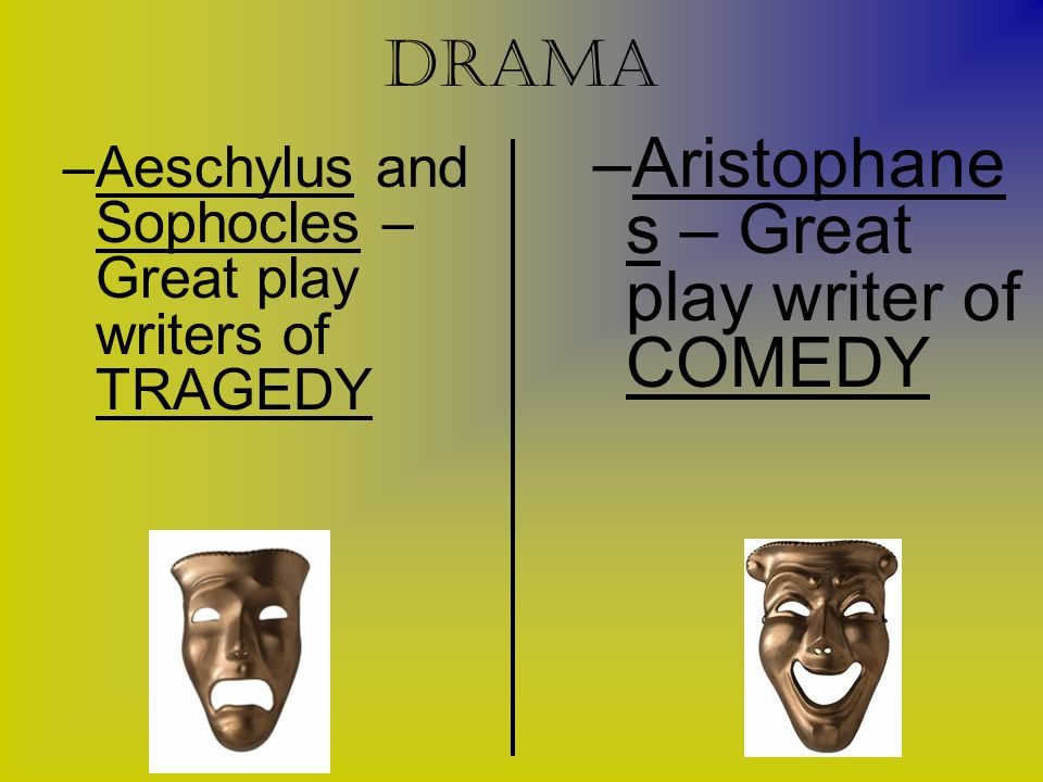 Aristophanes – Great play writer of COMEDY