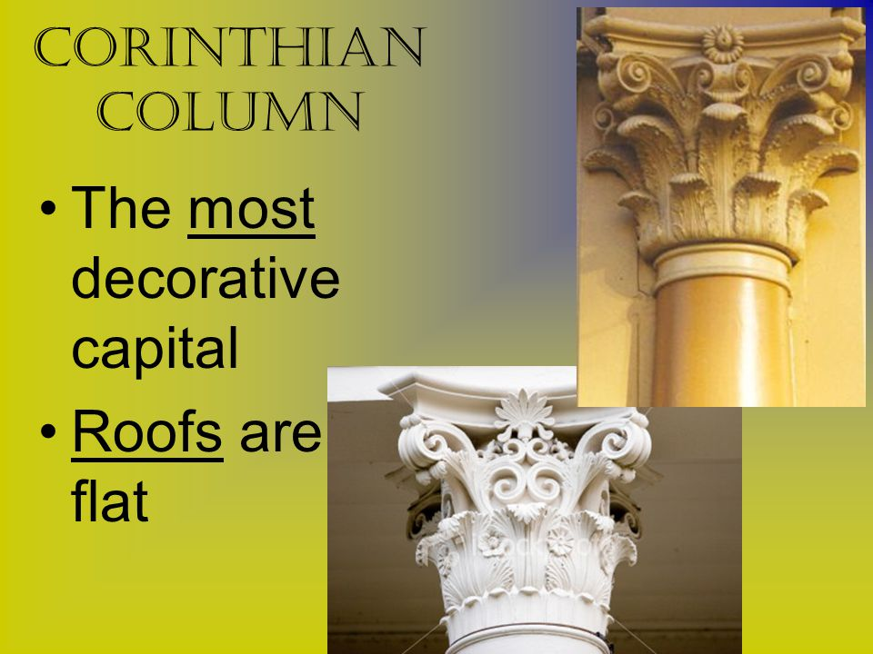 The most decorative capital