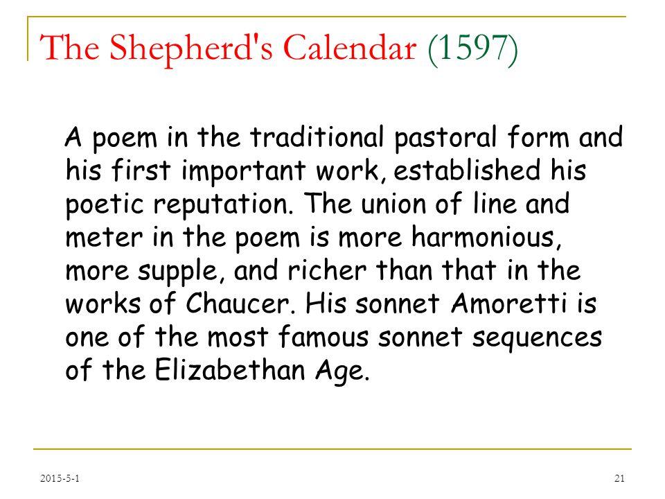 The Shepherd s Calendar (1597)