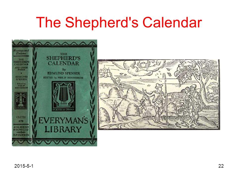 The Shepherd s Calendar