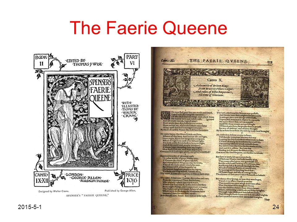 The Faerie Queene 2017/4/13