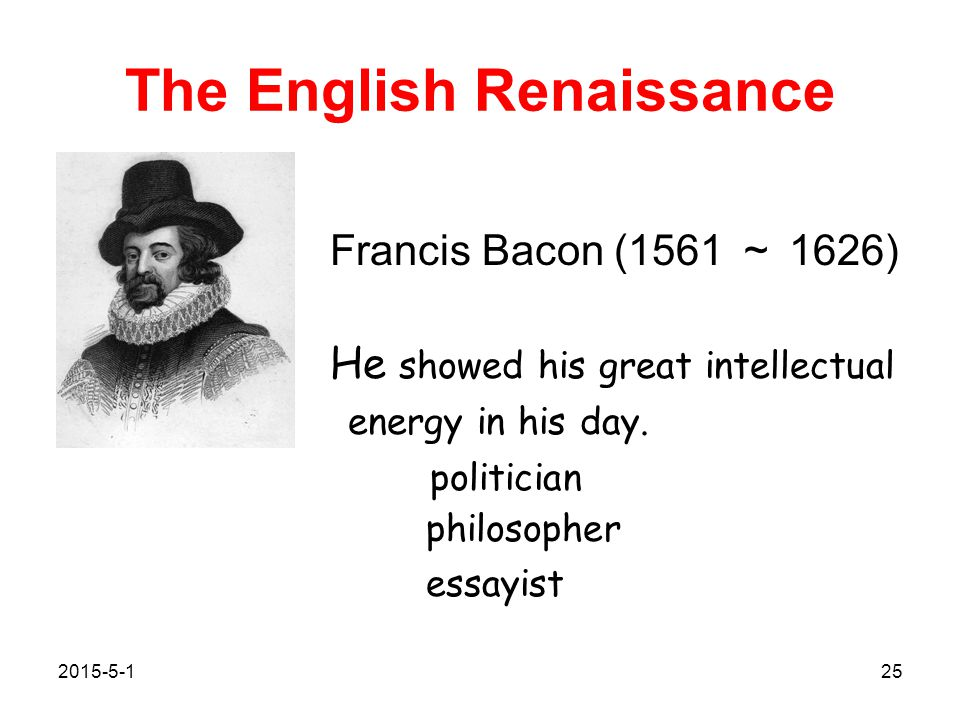 Sir Francis Bacon Essays