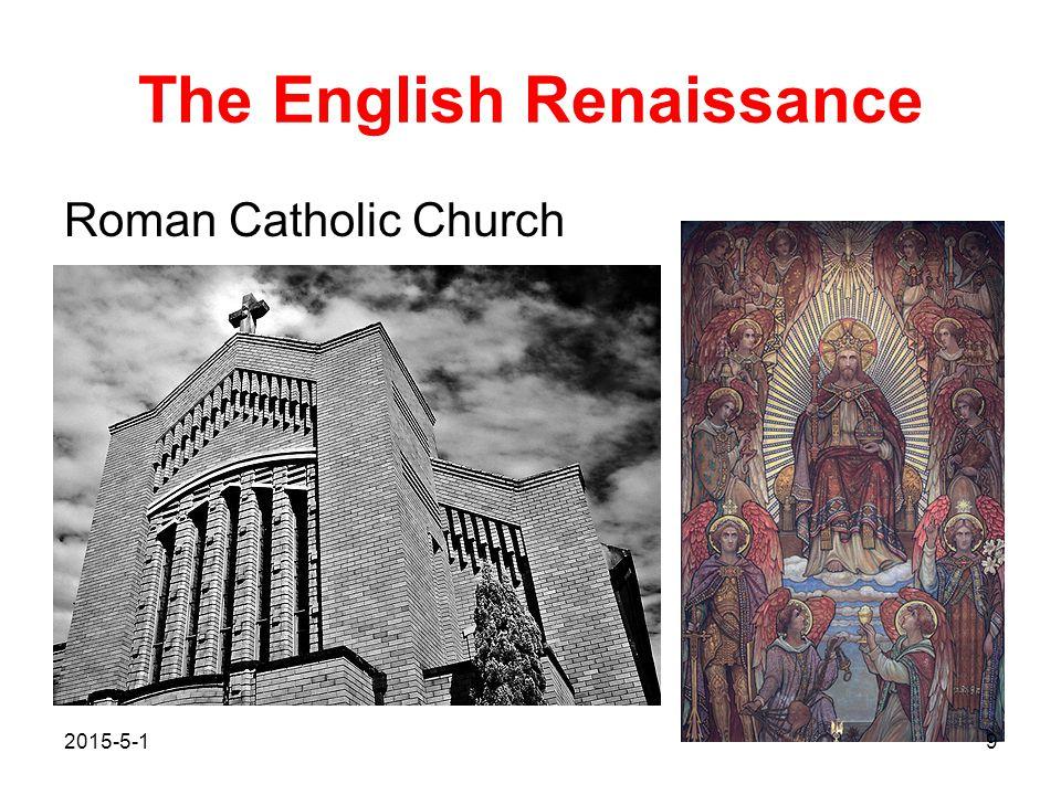 The English Renaissance