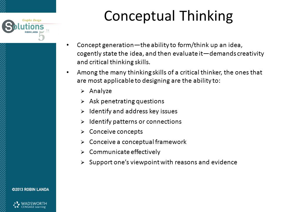 Critical Thinking: Where to Begin