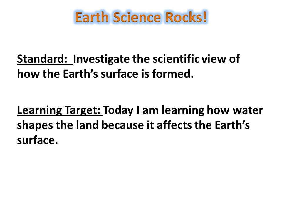 Earth Science Rocks!