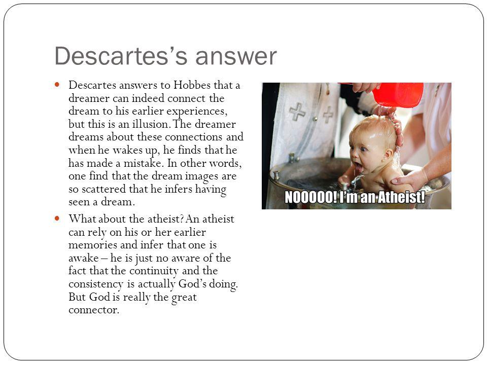 Descartes's answer