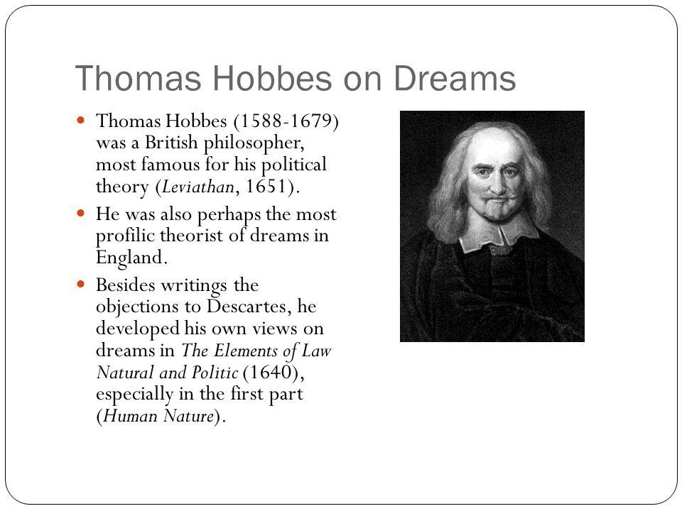 Thomas Hobbes on Dreams