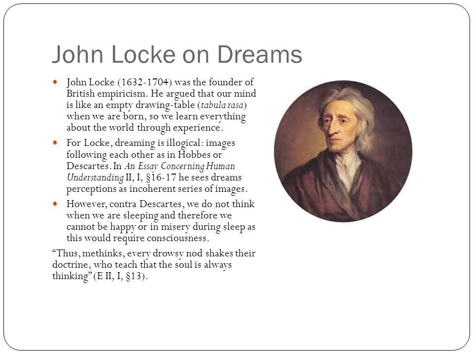 John Locke on Dreams