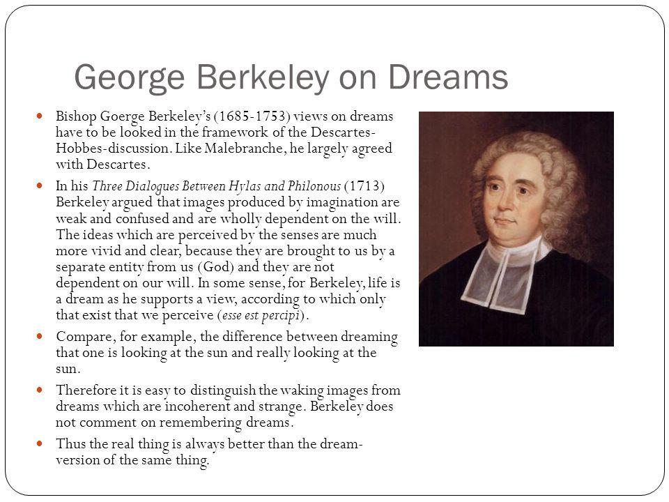 George Berkeley on Dreams