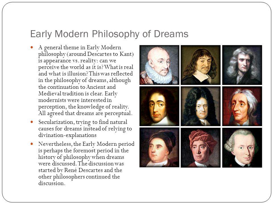 Early Modern Philosophy of Dreams