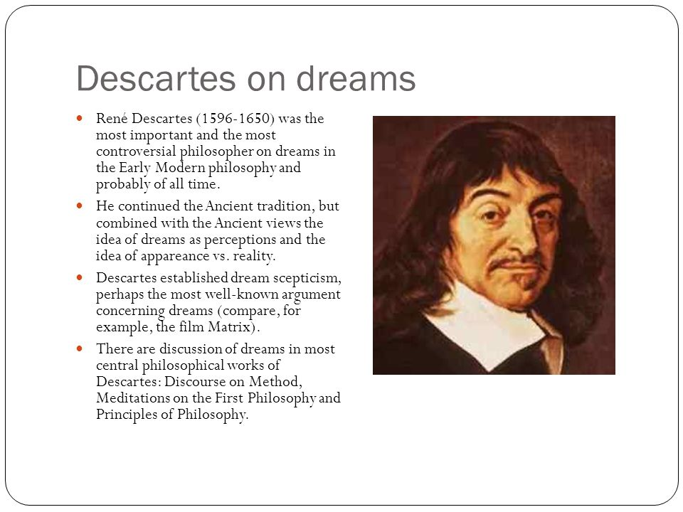 Descartes skepticism and the matrix