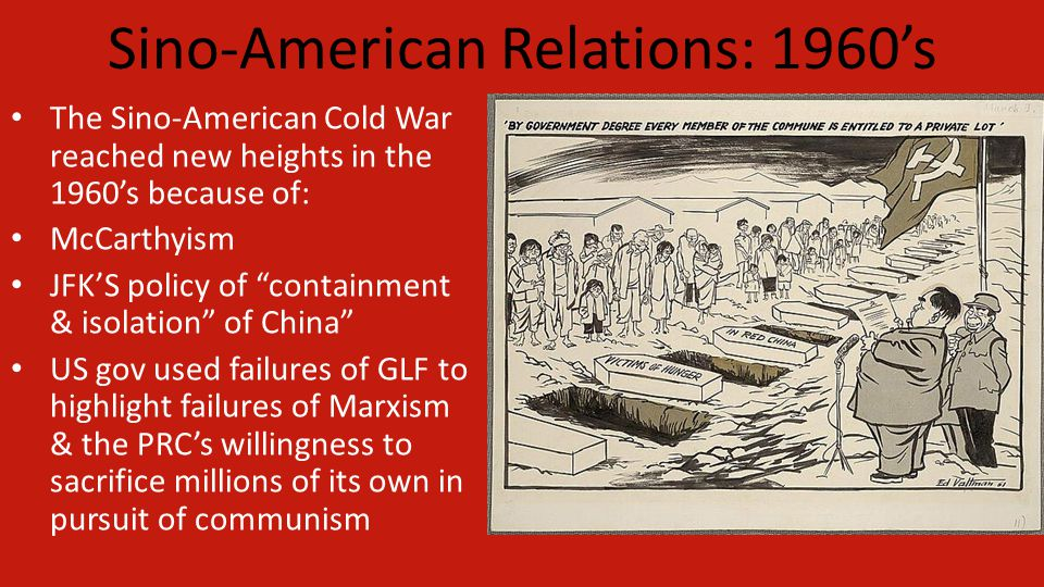 Sino-American Relations: 1960's