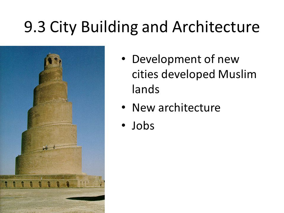 9.3 City Building and Architecture