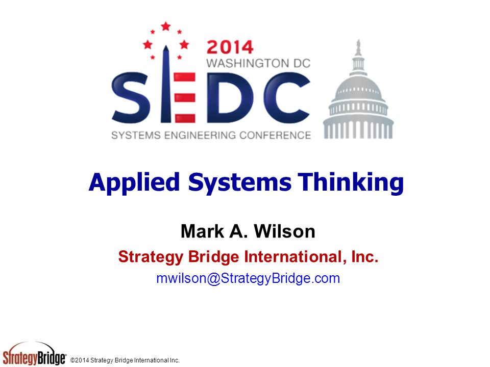 Applied Systems Thinking