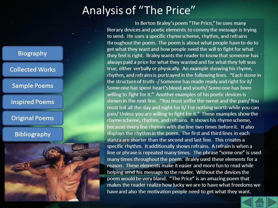 Analysis of The Price