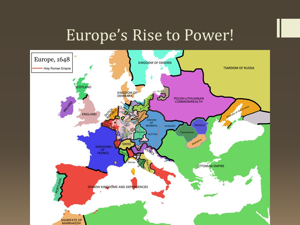 Europe's Rise to Power!