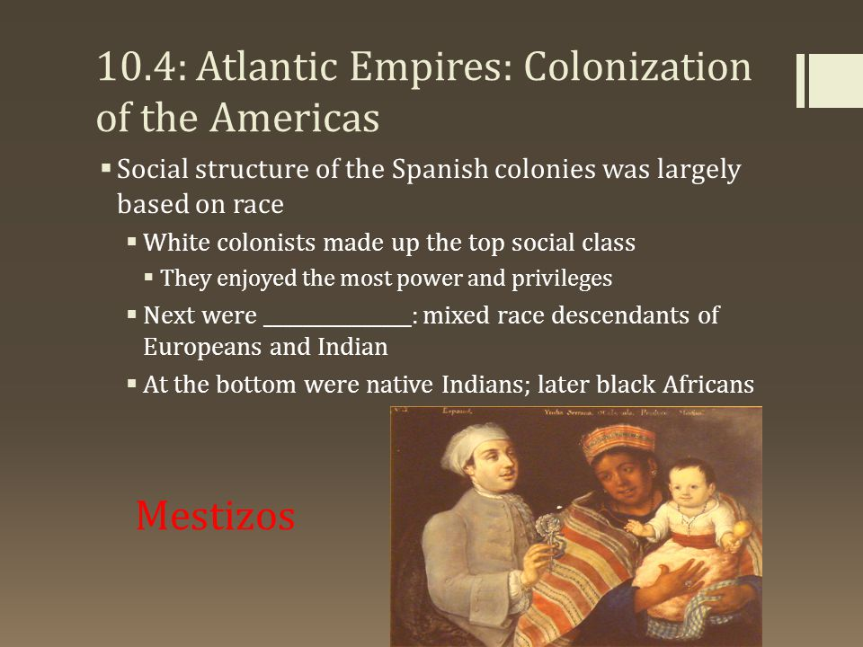 10.4: Atlantic Empires: Colonization of the Americas